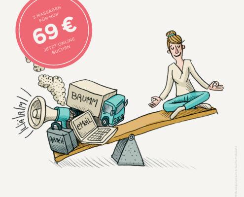 Attraktives Angebot: 3 Massagen in unser Physiotherapiepraxis in Altona für nur 69€